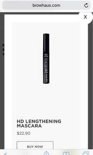Browhaus HD Lengthening Mascara
