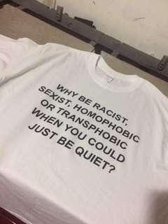ANTI RACISM SHIRT
