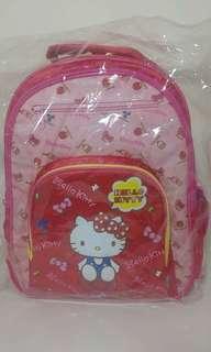 正版 Sanrio Hello Kitty 多隔小朋友書包(S)