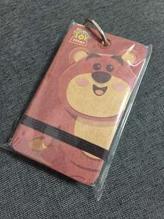 [BNIB] Toy Story Lotso Key Ring Memo Block (80 blank pieces)
