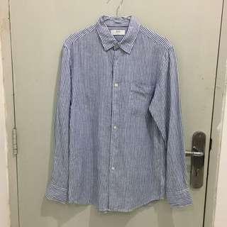 Uniqlo Striped Shirt Size M