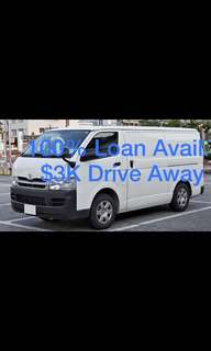 Toyota Hiace Standard Roof 3.0 Manual DX 5-door Van
