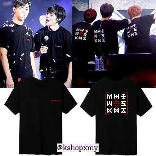 Monsta X ' The Code ' Concert Duplicate Tee