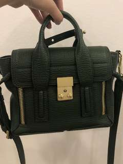 3. I Phillip Lim Mini Pashli in Jade Green