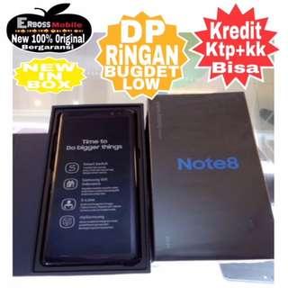 Samsung Note 8-64/6GB Resmi-Cash/Kredit Dp 3jt Ditoko ktp+kk call/wa;081905288895
