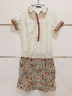 Dress Floral Import