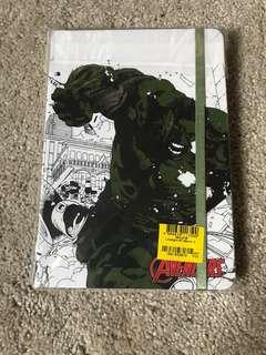 Hulk Avengers Notebook