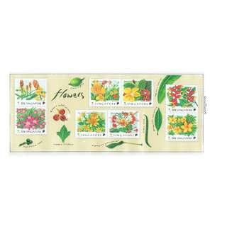 1998 04 Miniature Sheet   Flowers