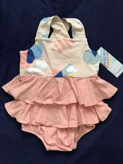 BN OETEO Sweet Baby Romper for 3 - 6 months