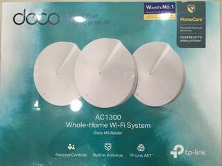 TP-Link Deco M5 Router Whole Home Wi-Fi System 3-pack