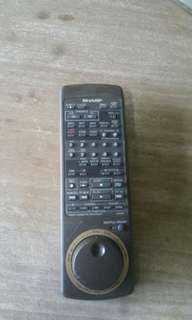 SHARP SHUTTLE REMOTE CONTROL  (MADE IN JAPAN