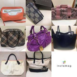 😍Gucci Burberry Agnes b Prada Marc by Marc Jacobs Salad Bags Bags Bags‼️‼️‼️