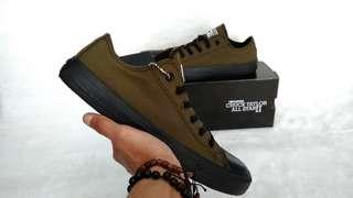 Sepatu Converse All Star Chuck Taylor II OX Green Army Black Unisex
