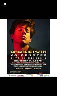 Charlie Puth VOICENOTES Concert in Malaysia