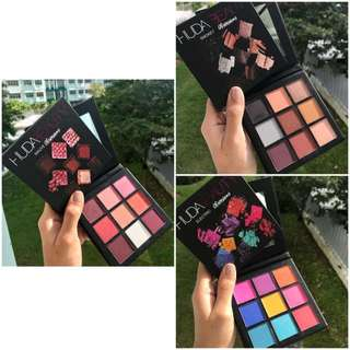 🚚 Huda Obsession Eyeshadow palette Mauve Smoky Electric