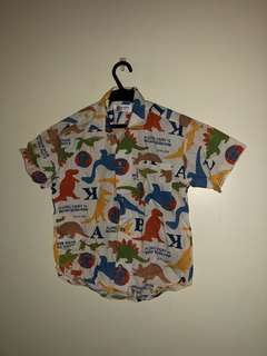 Dinosaur polo shirt