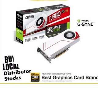 Asus Gtx 1060 3GB blower GPU