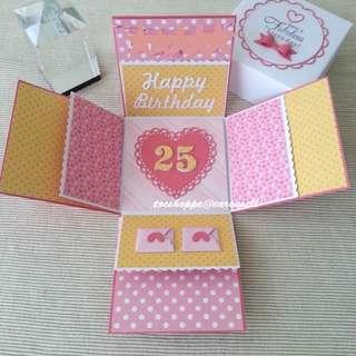 Birthday Gift Box Album