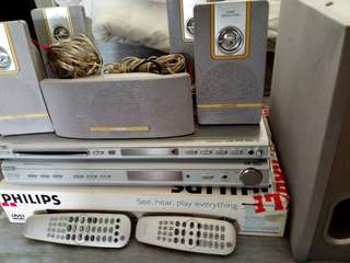 Home theater system & DVD player