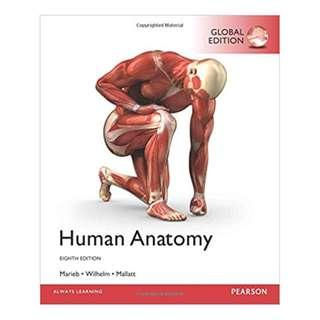 Human Anatomy 8th Global Edition, Kindle Edition by Elaine N. Marieb (Author), Patricia Brady Wilhelm (Author), Jon B. Mallatt (Author)