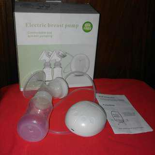 Electric Breast Pump with freebies