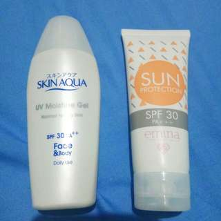 Emina Sunscreen & Skin Aqua UV Moisture Gel Sunscreen