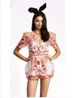 Alice Mccall space is only noise playsuit BNWT