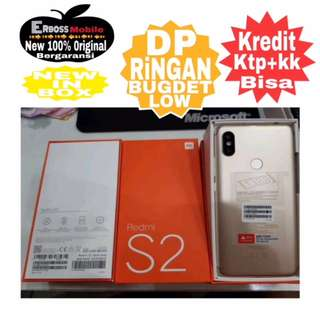 Xiaomi Redmi S2 (3/32GB) New Original-Cash/Kredit DItoko DP600rb Call/Wa;081905288895