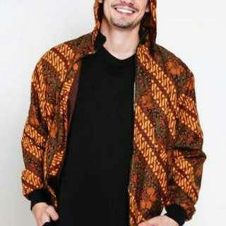 Jaket hoodie BATIK