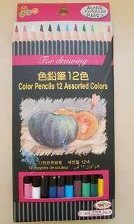 十二色顏色筆一盒