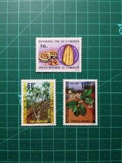 1980 喀麥隆 藥用植物 新票一套