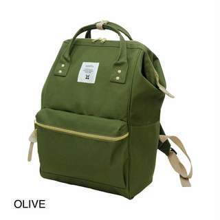Anello Backpack 文青背包 Olive green