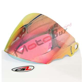VISOR FOR ARC RITZ - CRYSTAL SILVER (CSL)