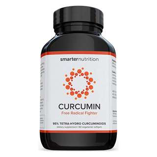 [IN-STOCK] Smarter Curcumin - Potency and Absorption in a SoftGel. 95% Tetra-Hydro Curcuminoids. The Most Active Form of Curcuminoid found in the Turmeric Root (1 Month Supply) - Smarter Nutrition