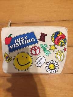哈哈笑化粧袋