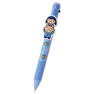 Sanrio 日本製 Minna No Tabo 大口仔 4用筆  (紅籃黑3色原子筆連0.5mm鉛芯筆)