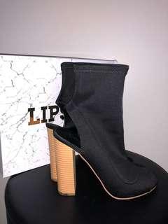 Lipstik Glitch Lycra Boots