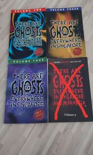 Ghost Story Books - Singapore Story