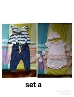 PRELOVED BABY GIRLS CLOTHES