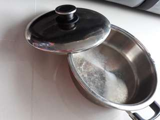 Steamboat stainless steel pot