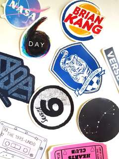 🚚 Customisable Stickers