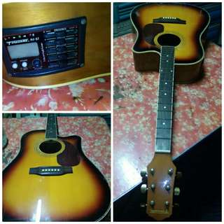 Fernando Acoustic Guitar (Almost New)
