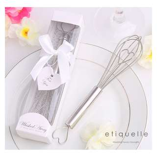 ED18112 HEART SHAPED HAND WHISK EGG BEATER