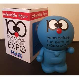 BNIB*** Collectable figuring Doraemon Piggy Bank- 100 secret gadgets EXPO