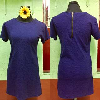BLUE ROUND DRESS - 99 ONLY