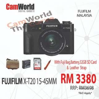 FUJIFILM X-T20 KIT ( 15-45 )