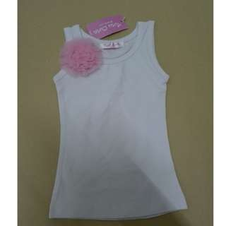 (WJ 0148) New Tutucute BB Girl Singlets -80