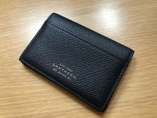 Smythson Leather Cardholder (Made in Italy)