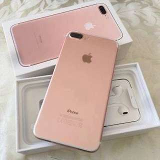 iPhone 7 Plus 128GB 玫瑰金