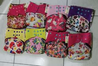 Ecopwet double gusset cloth diapers